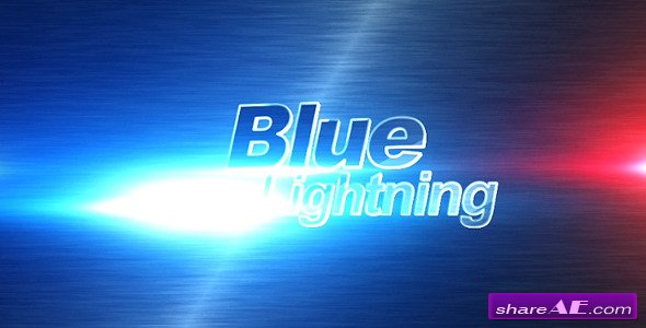 Blue lightning - Videohive