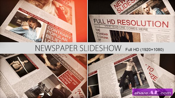 Newspaper Slideshow - Videohive
