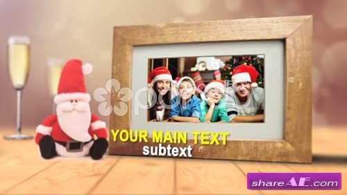 Christmas Holiday Frames - After Effects Templates (Pond5)