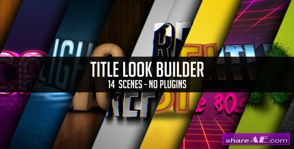 Title Look Builder - Videohive