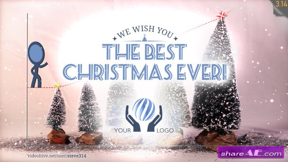 Best Christmas Ever! (Christmas Greeting Card) - Videohive