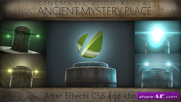 Ancient Mystery Place - Cinematic Logo Reveal - Videohive