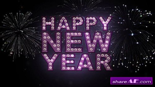 Happy New Year Titles - After Effects Templates (MotionMile)