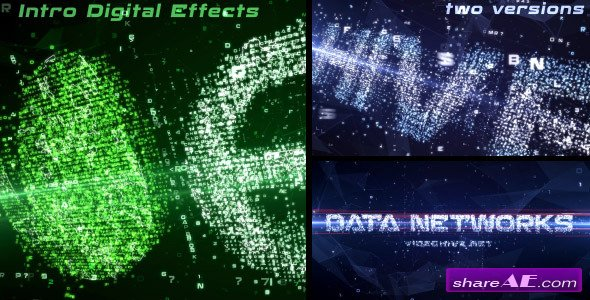 Data Networks Intro - Videohive