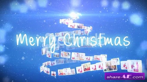Christmas Foto Tree - After Effects Template (Pond5)