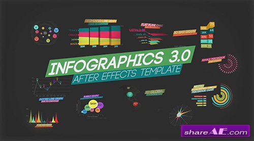 Infographics V3 - After Effects Template (FluxVFX) » Free After ...