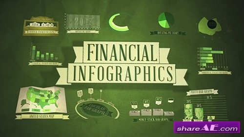 Financial Infographics - After Effects Template (FluxVfx) » Free ...