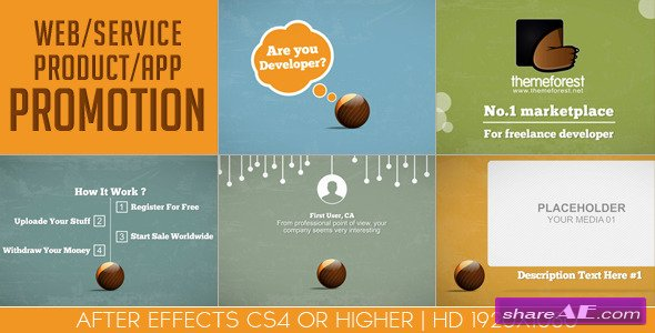 Web / Service / Product / App Promotion - Videohive