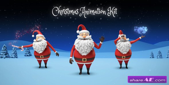 Santa - Christmas Animation DIY Kit - Videohive