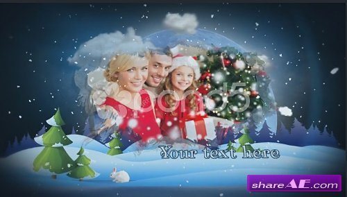 Christmas Slideshow - After Effects Template (Pond5)