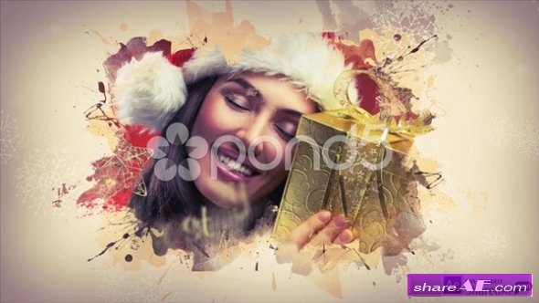 Merry Christmas - After Effects Template (Pond5)