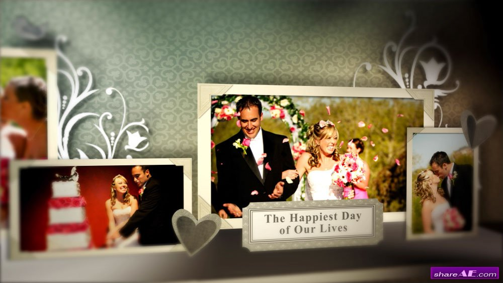 Wedding Pop Up Book - After Effects Template (Fluxvfx) » free ...