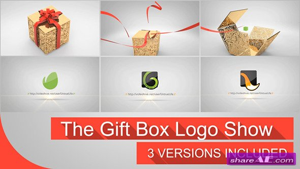 The Gift Box Logo - Videohive