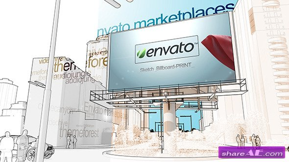 Sketch Billboard - Videohive