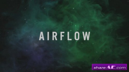 Airflow - Particle Logo Reveal - After Effects Project (Rocketstock)