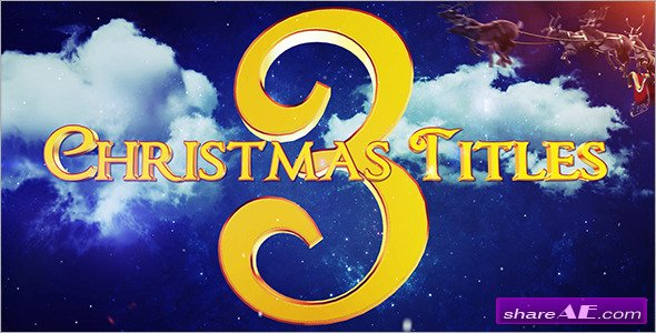Christmas Titles 3 - Videohive