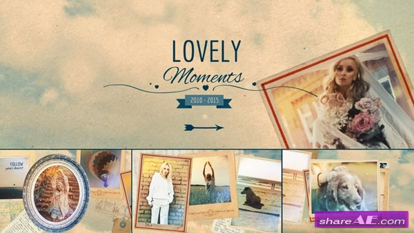 Lovely Moments - After Effects Template (Pond5)
