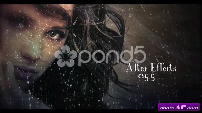 Rainy Slideshow - After Effects Template (Pond5)