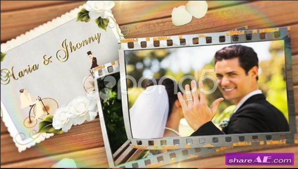 Wedding Film Memories - After Effects Template (Pond5)
