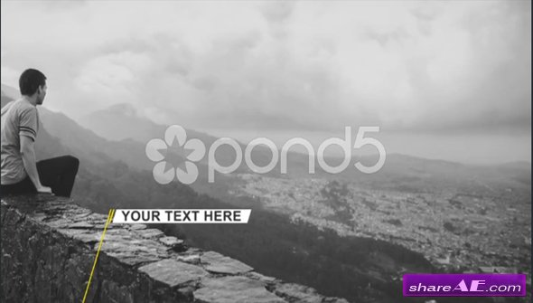 Solid Lower Thirds - After Effects Template (Pond5)