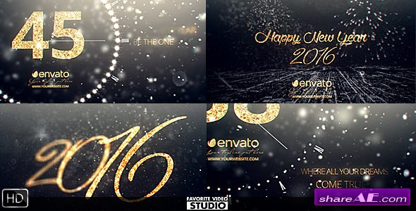 New Year Midnight Countdown 2016 - Videohive