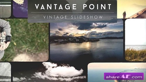 Vantage Point Vintage Video Slideshow - After Effects Project (Rocketstock)