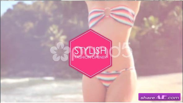 Stylish Fashion Opener - After Effects Template (Pond5)
