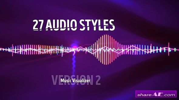 Audio Visualizer Music React 2 - Videohive