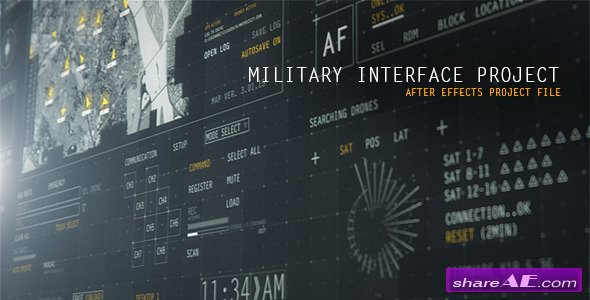 HUD Military Interface Project - Videohive