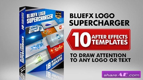 The Logo Supercharger Pack - 1 - After Effects Template (BlueFX)
