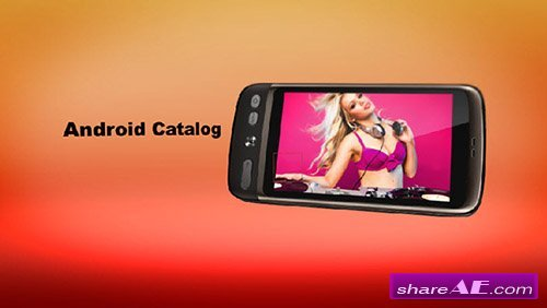 Android Catalog - After Effects Template (Bluefx)