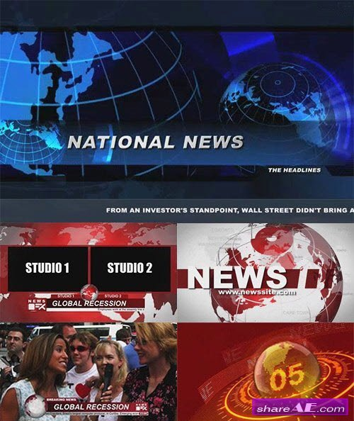 The News Bundle - After Effects Template (Bluefx)