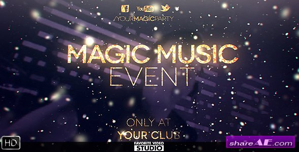 Magic Music Event - Videohive