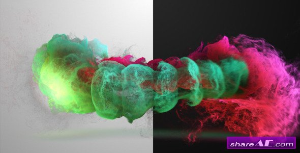 Colorized Inkflow Logo Reveal - Videohive