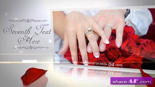 White Wedding After Effects Template Bluefx