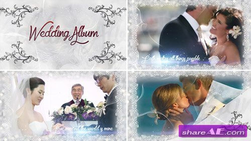 Wedding Slideshow - After Effects Template (Pond5)