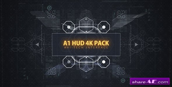 A1 HUD 4K PACK - Videohive