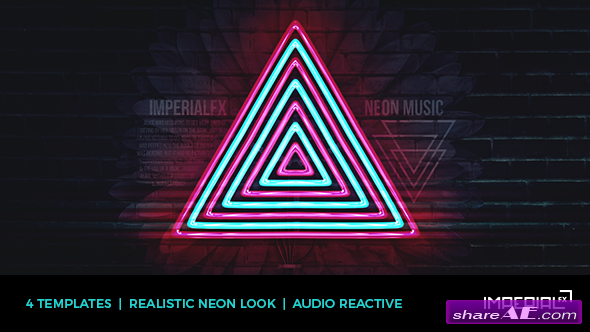 neon music visualizer audio react videohive free after effects templates after effects. Black Bedroom Furniture Sets. Home Design Ideas