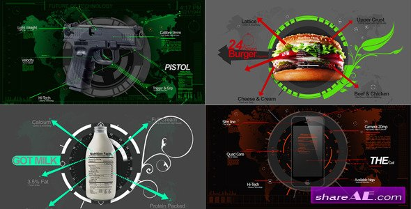 Infographics Mix - Videohive
