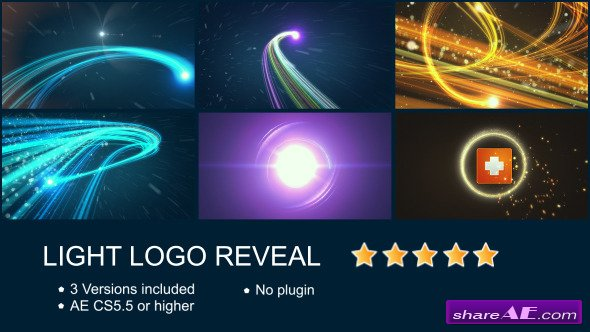 Light Logo Reveal - Videohive