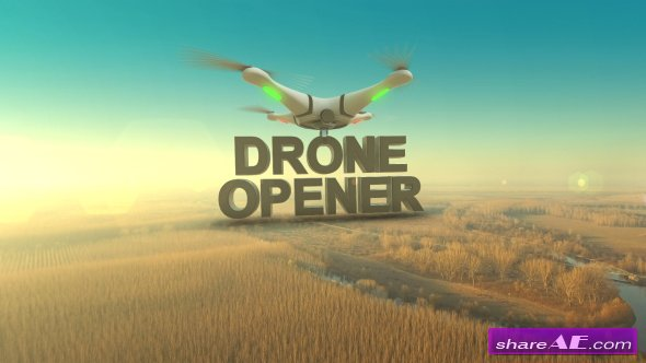 Drone Opener - Videohive