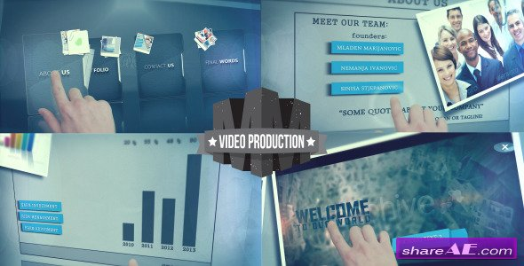Touch Screen Presentation - Videohive