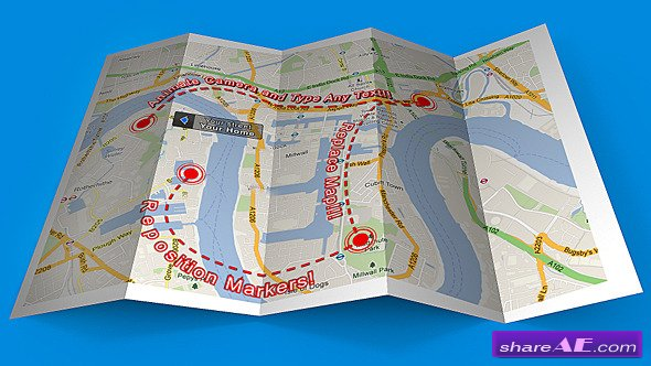 Map Mockup - Videohive