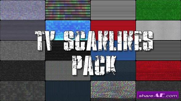 TV Scanlines with Distortion Overlays - Motion Graphics (Videohive)