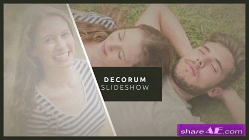 Decorum Hipster Title Sequence - After Effects Project (Rocketstock)