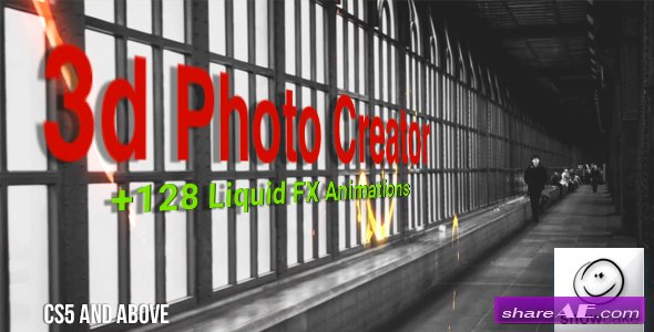 3d Photo Creator With Liquid FX Animations - Videohive