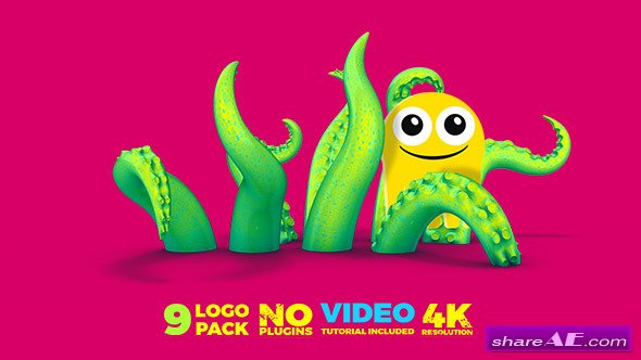 9 Logo Pack - Videohive