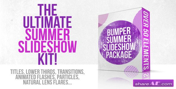 Bumper Summer Slideshow Package - Videohive