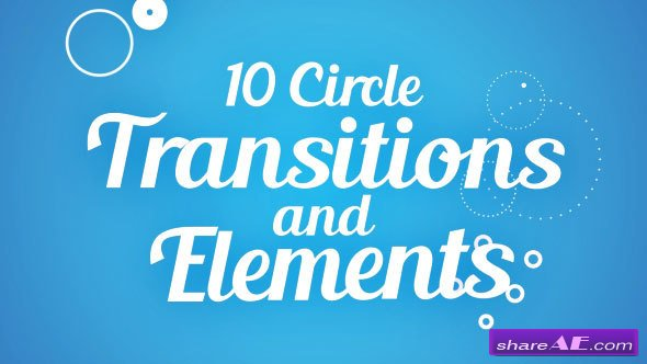 Circle Transitions and Elements - Videohive