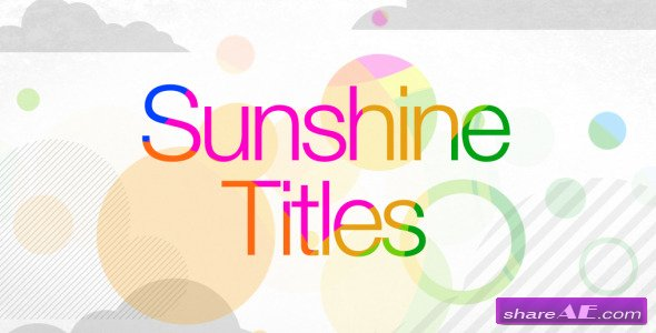 Sunshine Titles - Videohive